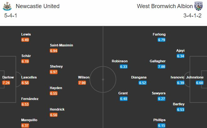 newcastle vs west brom